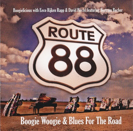 Boogielicious - Route 88 Boogie Woogie & Blues For The Road - Front